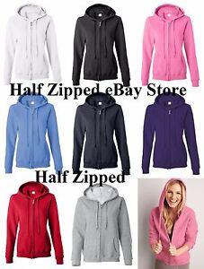 fc023aa8236 Gildan Heavy Blend Ladies Missy Fit Full-Zip Hooded Sweatshirt ...