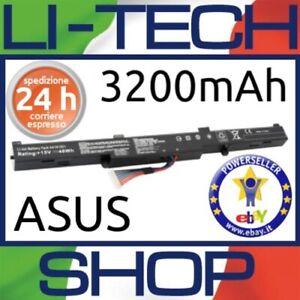 Batteria-compatibile-3200mAh-per-ASUS-ROG-GL752VW-T4016T-4-CELLE-NERO-PILA-NUOVA
