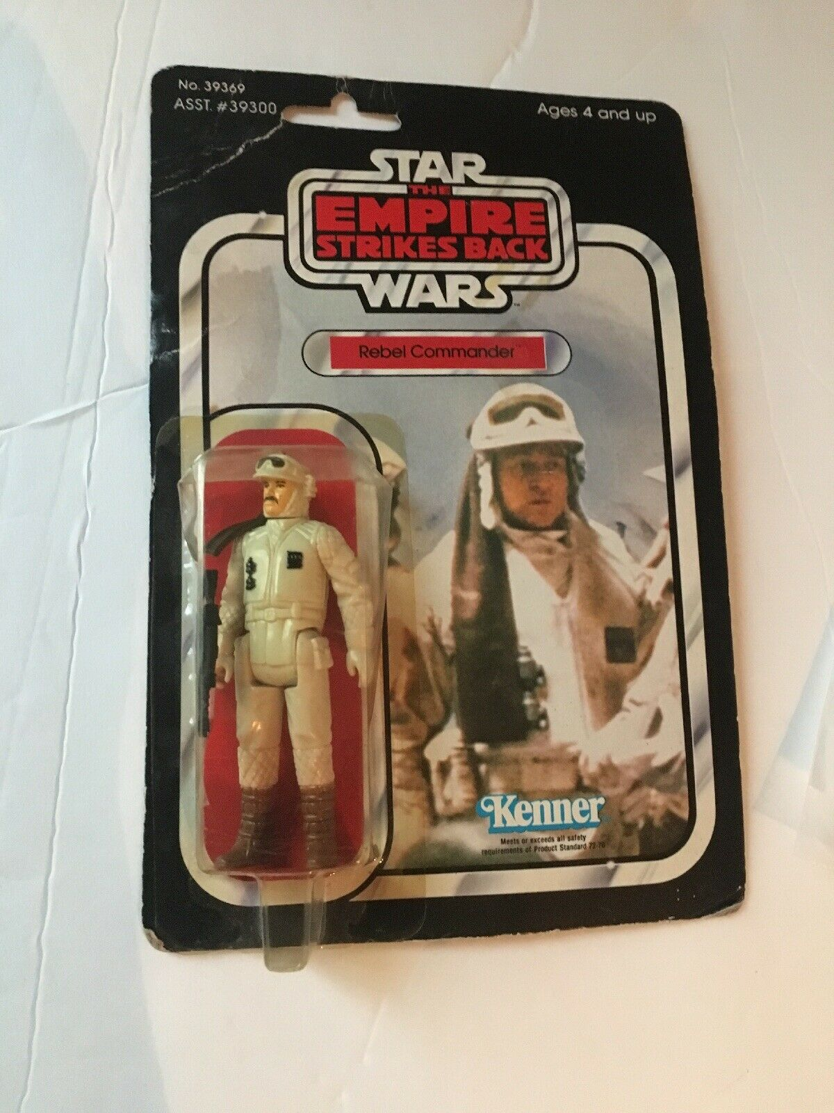 Vintage Star Wars New NIP 1980 Hoth Rebel Commander MOC  ESB