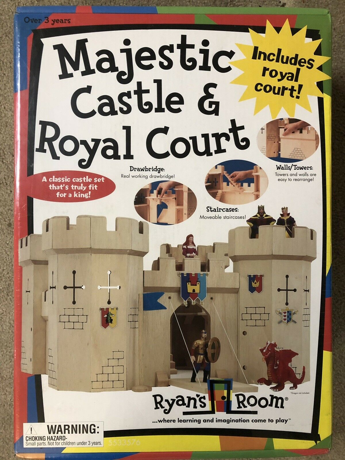 NEW Ryan's Room Majestic Castle & Royal Court