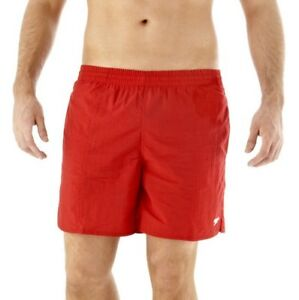42b152b303 SPEEDO MENS SWIM SHORTS.NEW SOLID LEISURE 16