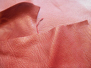 Red-Goatskin-Leather-offcuts-various-sizes-Bookbinding-Crafts