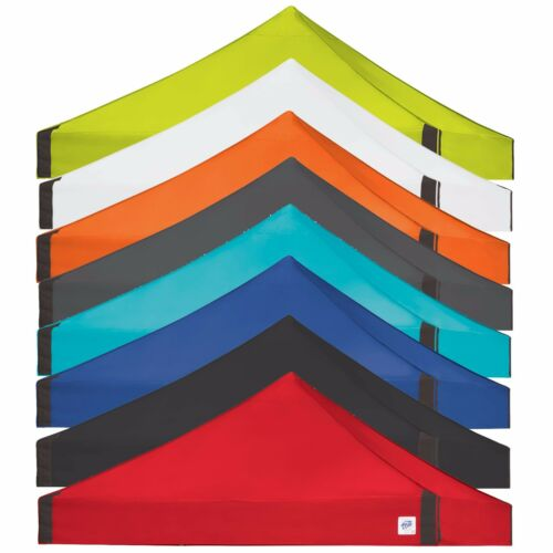 E-Z UP Replacement Top Only Fits E-Z UP Vantage 10 x 10 Only Red Blue Black
