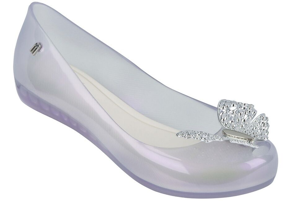 Melissa Ultragirl + Cinderella Butterfly Disney Licensed Jelly shoes US US US 9 10 48a229