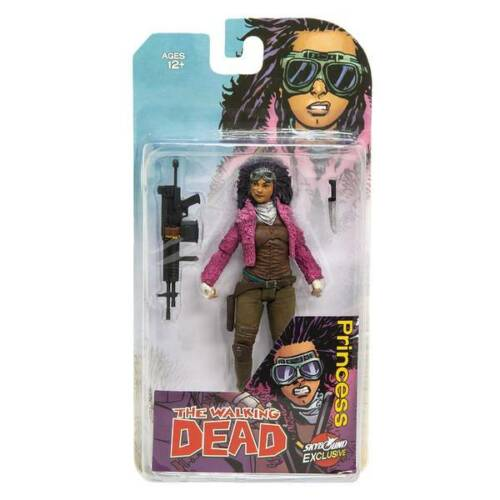 The walking Dead Princess Color Action Figure Skybound Exclusive TMP