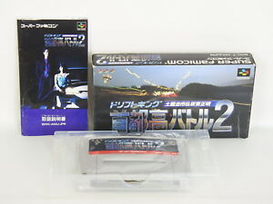 SHUTOKO-BATTLE-2-Drift-King-Ref-ccc-Super-Famicom-Nintendo-Japan-Game-sf