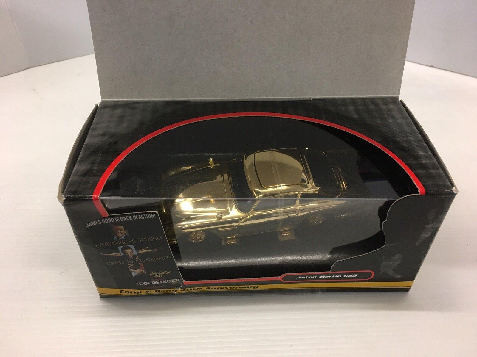 CORGI cc04307 James Bond Aston Martin db5 Oro Placcato 40th Anniversario