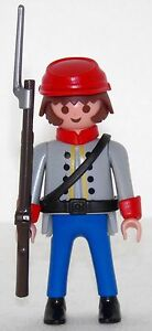 SOUTHERNER-SOLDIER-PLAYMOBIL-to-Coupling-belt-vs-Yankee-Western-Figurines-1674