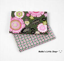 Beautiful Vera Bradley 100% Cotton Fabric (Olivia Pink)——2 Matching Fat Quarters