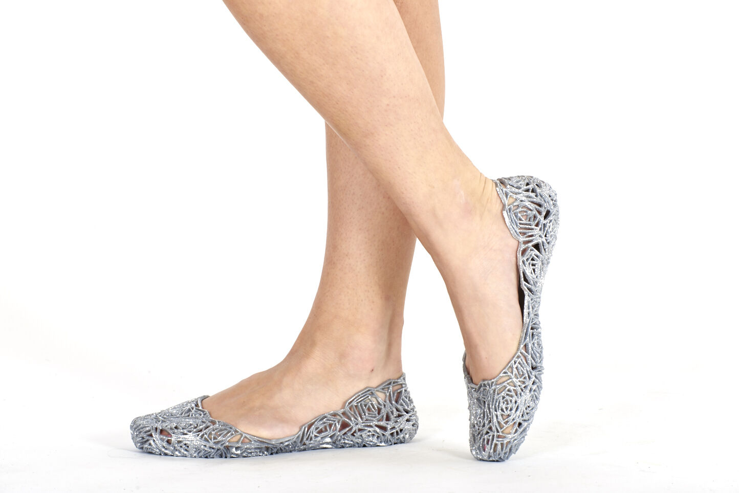 Para women planas Bailarina Ballet Ballet Ballet Suave Ocasional Gel Brillantina Zapatillas dee775
