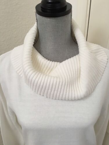 Sweater Hvid Lepore New Women's Cowl Medium Nwt Nanette Størrelse Neck M n46Z7wnYqW