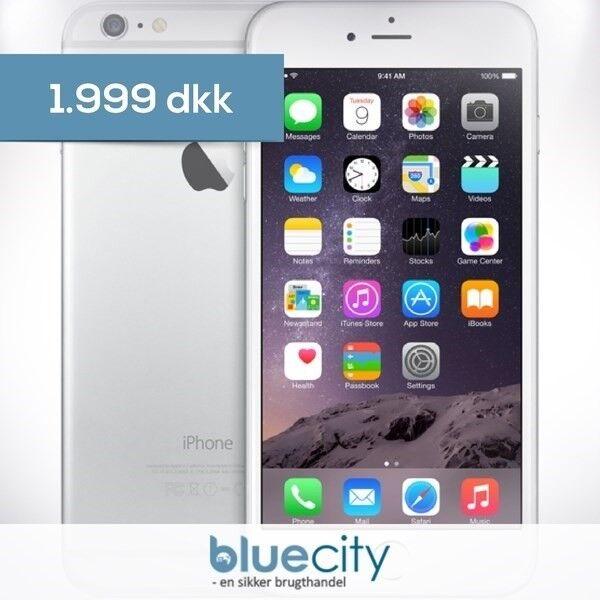iPhone 6 Plus, GB 16, hvid