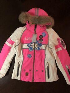 größter Rabatt Stufen von gute Textur Details about Bogner Mauna T insulation Women's ski jacket pink size 2XL EU  44 (slim) NWT