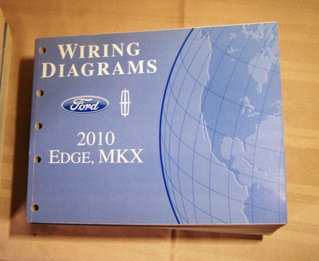 2010 Ford Edge Lincoln Mkx Wiring Diagrams Dealer Service Manual Oem