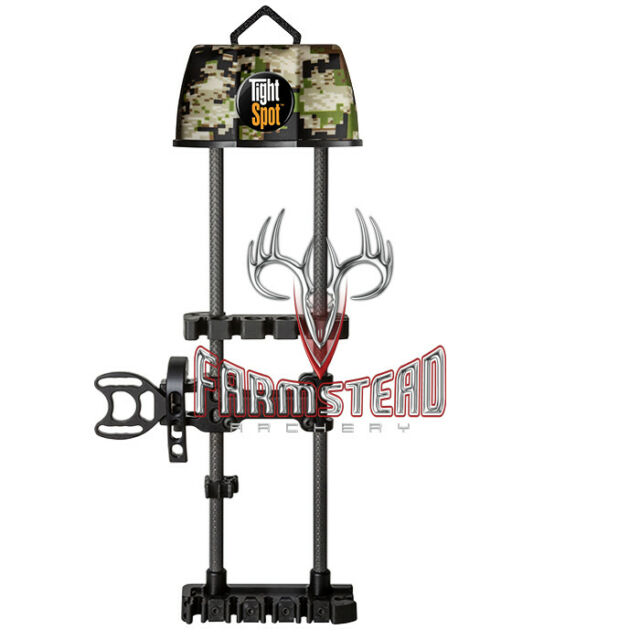 New TightSpot Rise 5 Arrow Right Hand Compact Bow Quiver OD Green