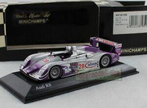 1/43 Scale MINICHAMPS AUDI R8 Sebring 12H 2004 Winners #28 Diecast