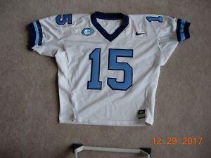 7f831e309 Game Worn Used Nike North Carolina Tar Heels UNC Football Jersey  15 ...