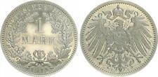 1 Mark. J.17   1915 E , Polierte Platte , PCGS PR64CAM   leicht berührt, Patina