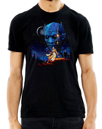 Game Of Starwars Game Of Thrones Starwars Mashup T shirt Novelty TV Movie