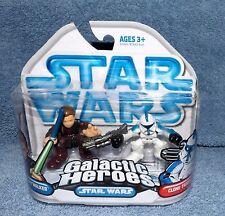 STAR WARS GALACTIC HEROES 2008 ANAKIN SKYWALKER /& CLONE TROOPER SET