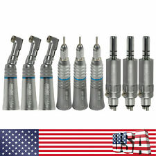 Usa Dental Low Slow Speed Handpiece Contra Angle Straight Air Motor 4h For Nsk