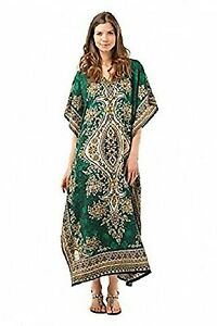 New-Long-Kaftan-dress-Hippy-Boho-Maxi-Free-Size-Women-Caftan-Top-Dress-Gown
