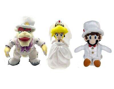 3x Super Mario Odyssey King Bowser Princess Peach Mario Wedding
