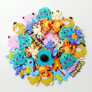 50e8133bb0ae63 Image is loading Child-Gifts-50pcs-Cartoon-Pocket-Monster-Shoe-Charms-
