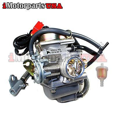 New GO KART Carburetor For American Sportsworks Quantum Carbide Zircon 150 150CC