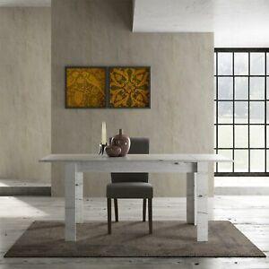 Tavolo Moderno In Rovere.Tavolo Moderno Legno Land 137 Allungabile Soggiorno Rovere Neve