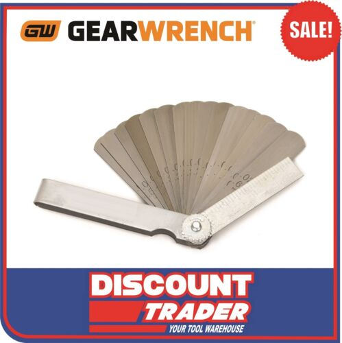 GearWrench 15 Blade Metric & SAE Feeler Gauge 162