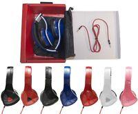 Over-ear 3.5mm Earphones Headphones Model 920 For Ipod Iphone Mp3 Pc Music + Bag