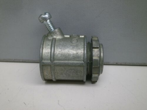 "40 Bridgeport 507-DC2 1//2/"" Flex Conduit Connector for Flexible Steel Conduit"