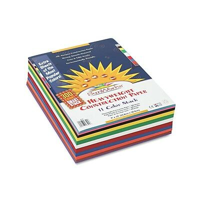 Pacon - Construction Paper Sunworks 9 x 12 - Assorted Colors, 300 Sheets