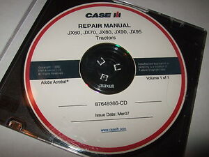 case jx 90 owners manual