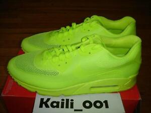 Details about Nike Air Max 90 Hyperfuse Size 14 Volt Solar Red Independence Day B