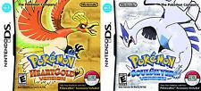Pokemon HeartGold & SoulSilver Bundle Pack w/ Pokewalker [Nintendo DS DSi, RPG]
