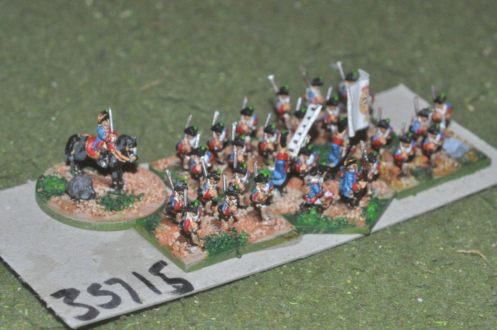 10mm 7YW   austrian - regiment 30 figures - inf (35715)