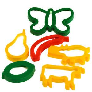 Plastique Forme Cutters-assortiment (6) - Modélisation Pâte, Cookies, Enfants, Enfants-afficher Le Titre D'origine