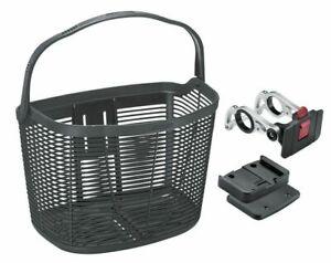 Cesta-de-bicicleta-Kellys-Load-Front-cesta-de-bicicleta-cesto-manillar-cesta-de-la-compra-negro