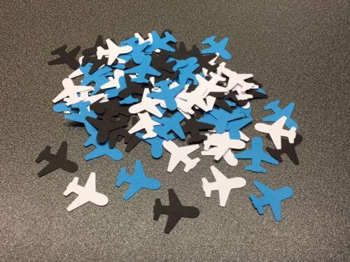 100 Aeroplane Party Table Confetti
