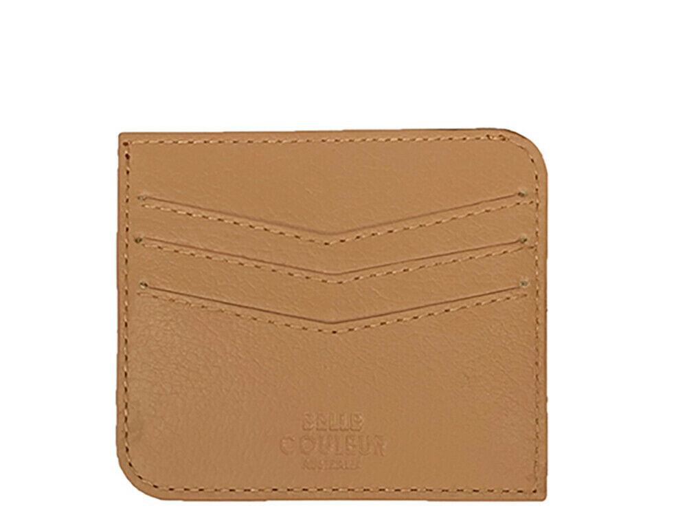 Koty - Nude Leather Card Wallet