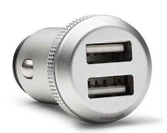 VW USB 2 Fach Ladeadapter 000051443D 2,4A Adapter Zigarettenanzünder Schnelllade