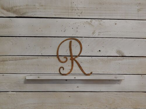 "F1005 8/"" Monogram Letter Kid/'s Name Decor Wedding Initial Decor Nursery"