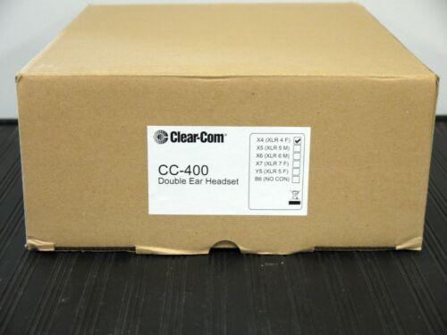 Clear-Com CC-400-X4,Double-Ear Headset
