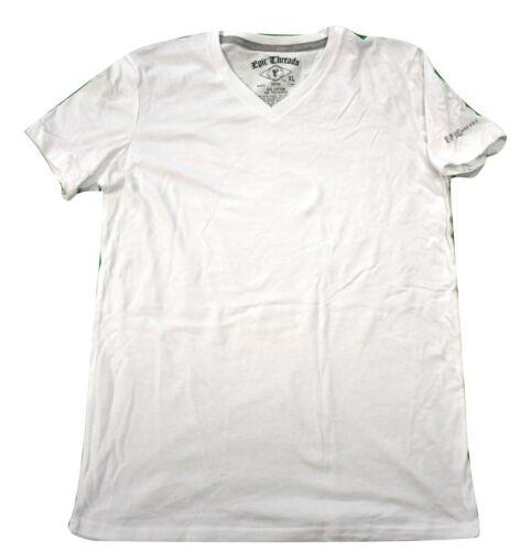 Epic Threads Boys Youth White V-Neck Tee Shirt New XL
