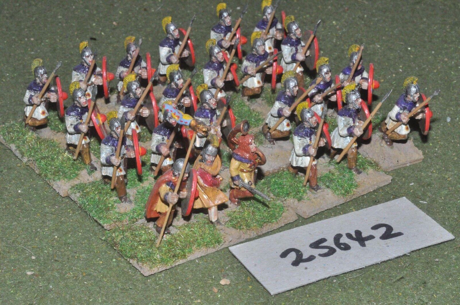 25mm roman era   roman - auxiliaries 24 figures - inf (25642)