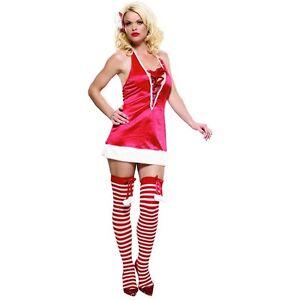 Sexy mrs santa costume adult miss claus christmas fancy dress ebay