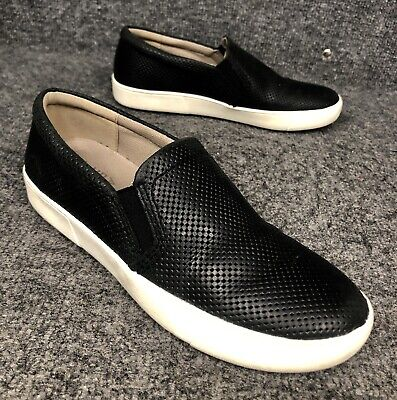 Naturalizer Marianne Black Leather Slip