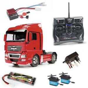 Tamiya-Truck-MAN-TGX-18-540-XLX-4x2-2-Achs-1-14-2-4GHz-Komplettset-300056329SET